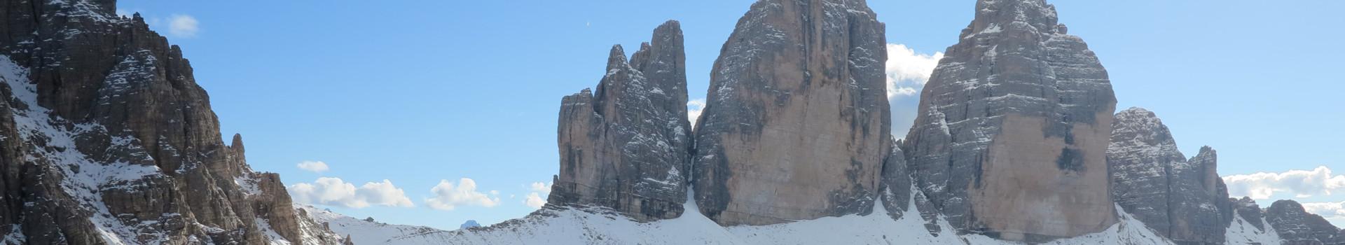 Panoramawege in den Dolomiten