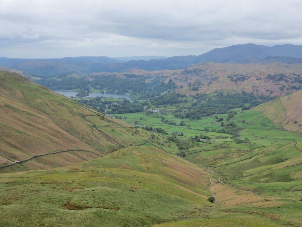 Tour of the Lake District - Aufstieg zum Hause Gap