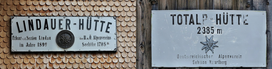 Lindauer Hütte - Totalp Hütte