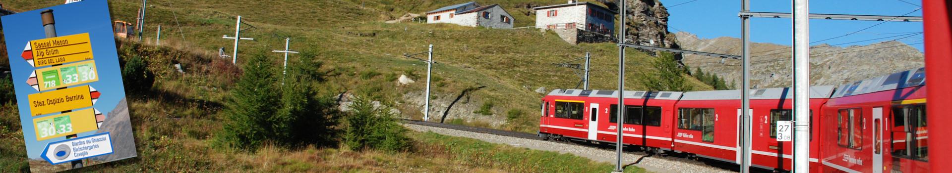 Wandern mit der Rhätischen Bahn